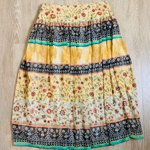 🎉5 for $25🎉  Dress Barn Floral Boho Skirt